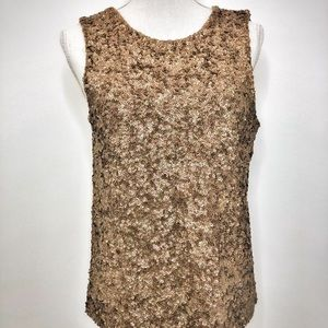J. Crew Collection Sequined Top